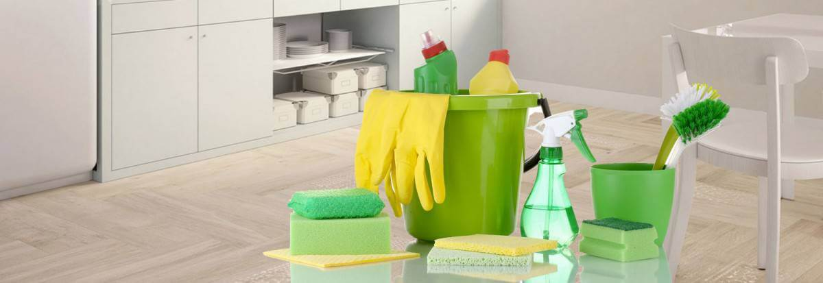 شركة تنظيف شقق بجازان تستخدم أفضل سوائل التنظيف